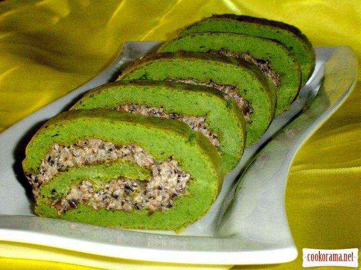 """Закусочний рулет """"Зелений при зелений ..."""""""