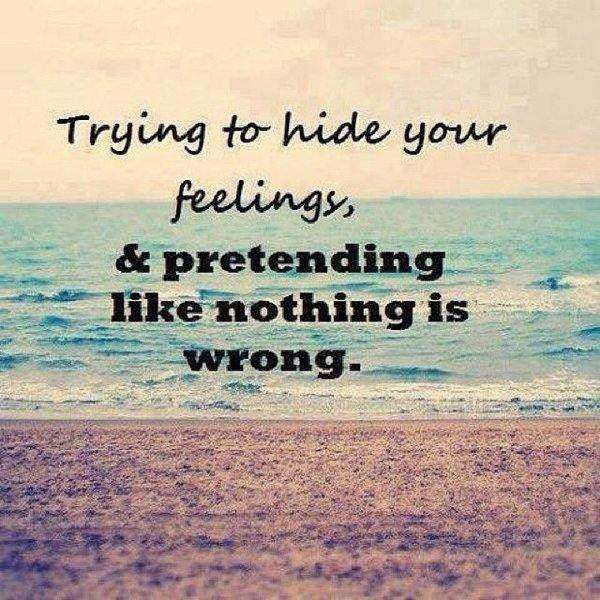 Lovely Sad Quotes About Hiding Your Feelings Mesgulsinyali