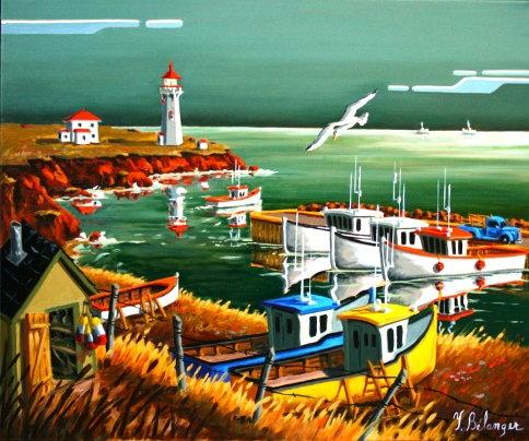 YVON BÉLANGER ARTISTE-PEINTRE: Collection 2012 Îles-de-la-Madeleine.