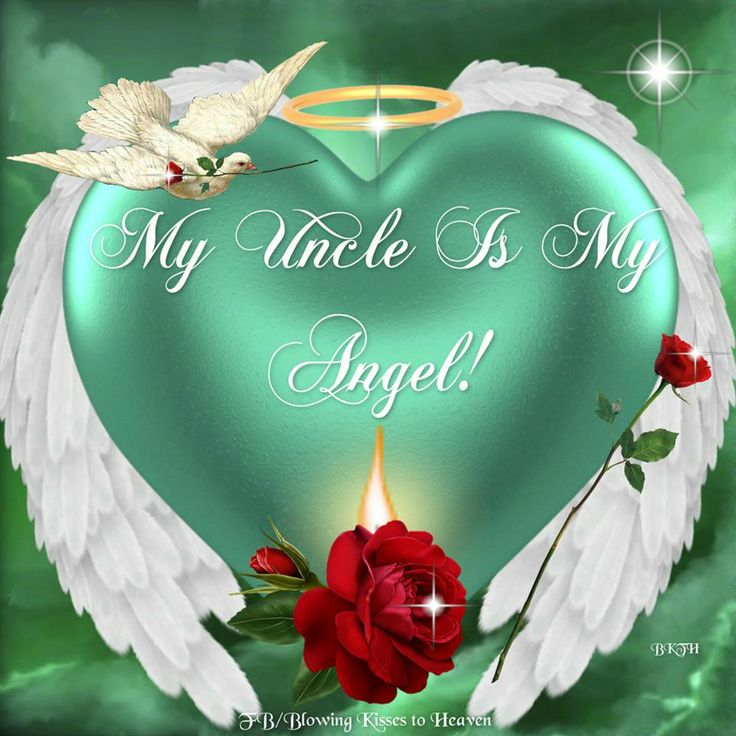My Uncle is my Angel | 35th wedding anniversary, Loved one ...