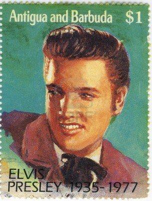 *ELVIS PRESLEY ~ United States Postal Stamp, One dollar