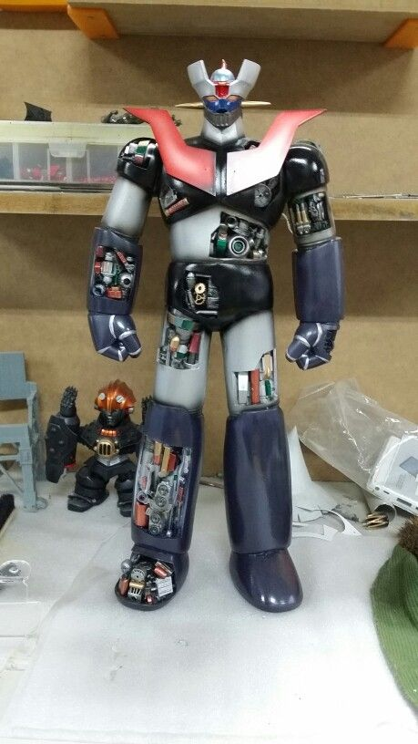 Mazinger z  custom  model.