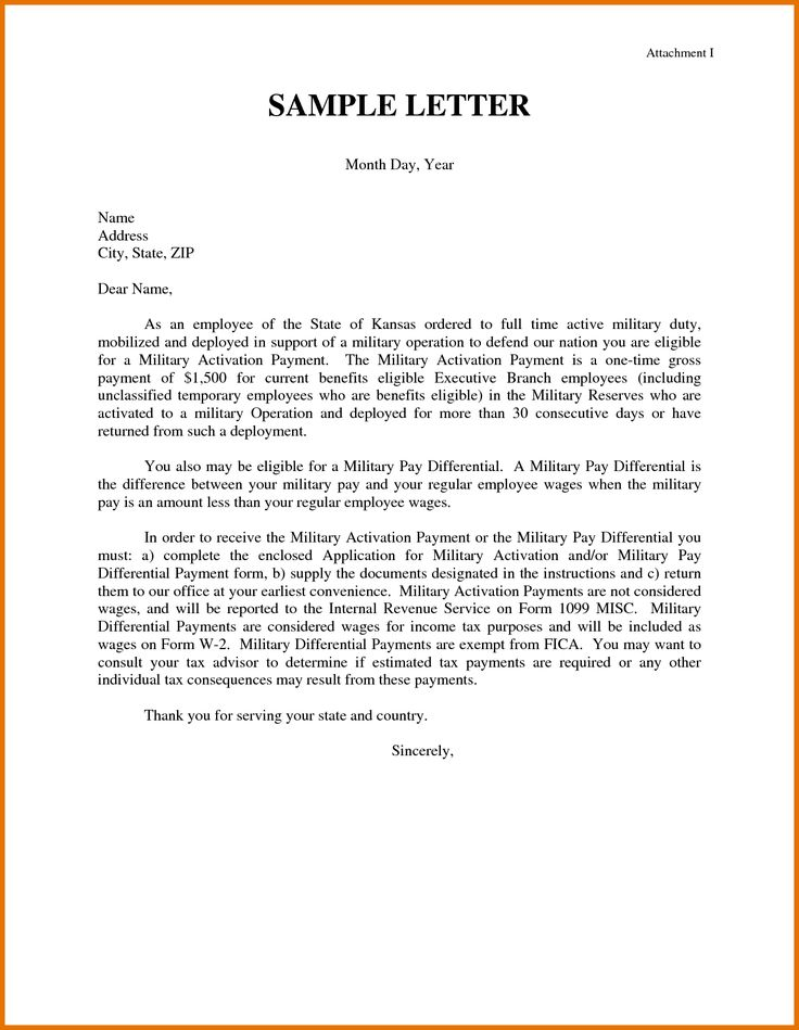 letters of resignation examples