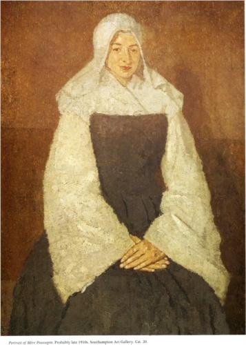 Mother Marie Poussepin, 1915-1920 Gwen John