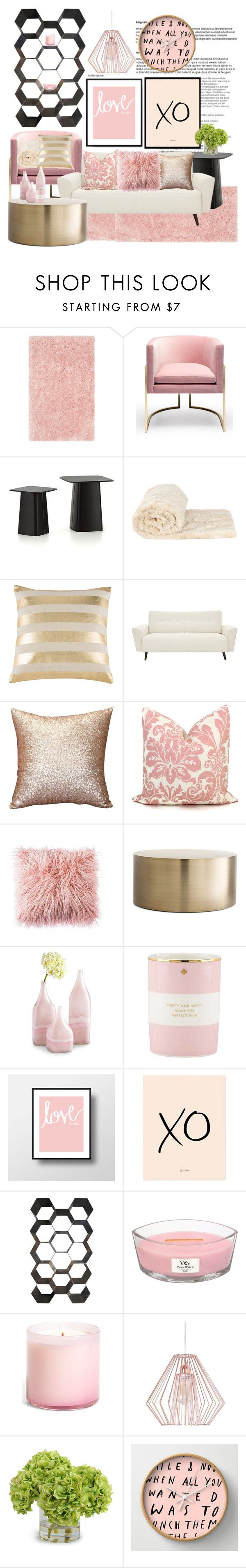 """XOXO"" by missoumiss on Polyvore featuring interior, interiors, interior design, home, home decor, interior decorating, Balmain, Vitra, Montague & Capulet and Shiraleah"