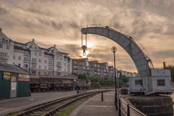 Bristol Harbourside Crane - 100 days in Bristol