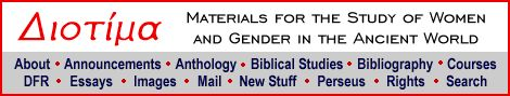 Materials for the Study of Women and gender in the ancient world