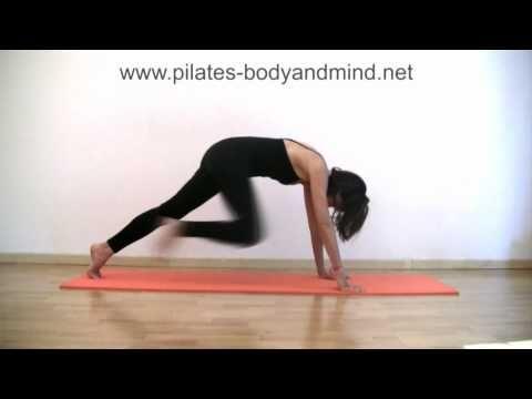 ▶ Pilates - Esercizi di Stretching per Glutei, Gambe e Schiena (Parte 2) - YouTube