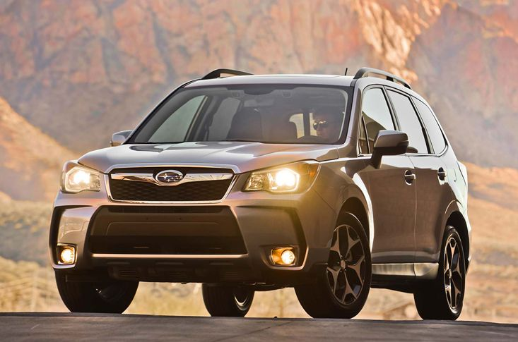 Subaru SUV Goes Turbo Forester SUV Redesigned Subaru declared not long ago that it would give a progression of redesigns to the tried and true workhorse of its range, the Forester SUV. Presently, we've had a go in the redesigned auto and our first taste comes cordiality of this top-spec Forester XT turbo. From the …