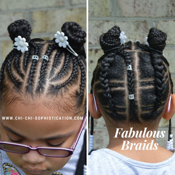 www.chi-chi-sophistication.com Cornrows for kids