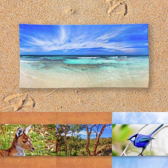 With beach weather just around the corner which of our beach towel designs to…