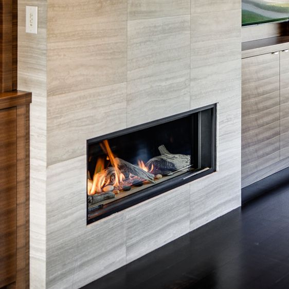 L1 Linear Series: Zero clearance fireplaces are designed for applications in new construction homes or when renovating.