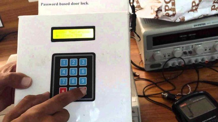 at defcon wired arduinopowered door lock system youtube arduinopowered Door Security Locker door lock system youtube password based locking using mc password