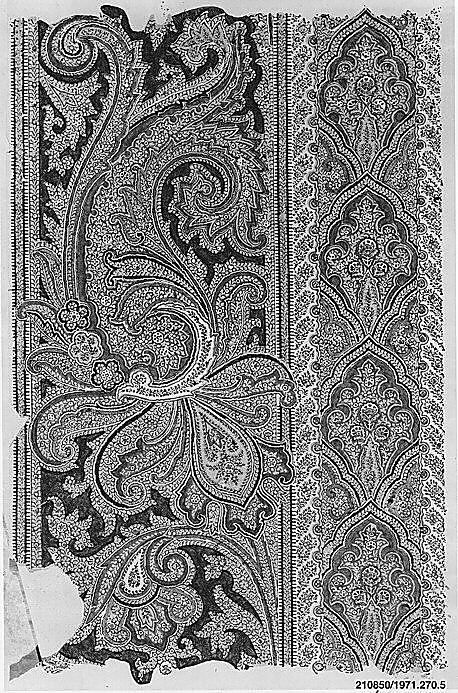 French Textile Sample Book I 19th century
