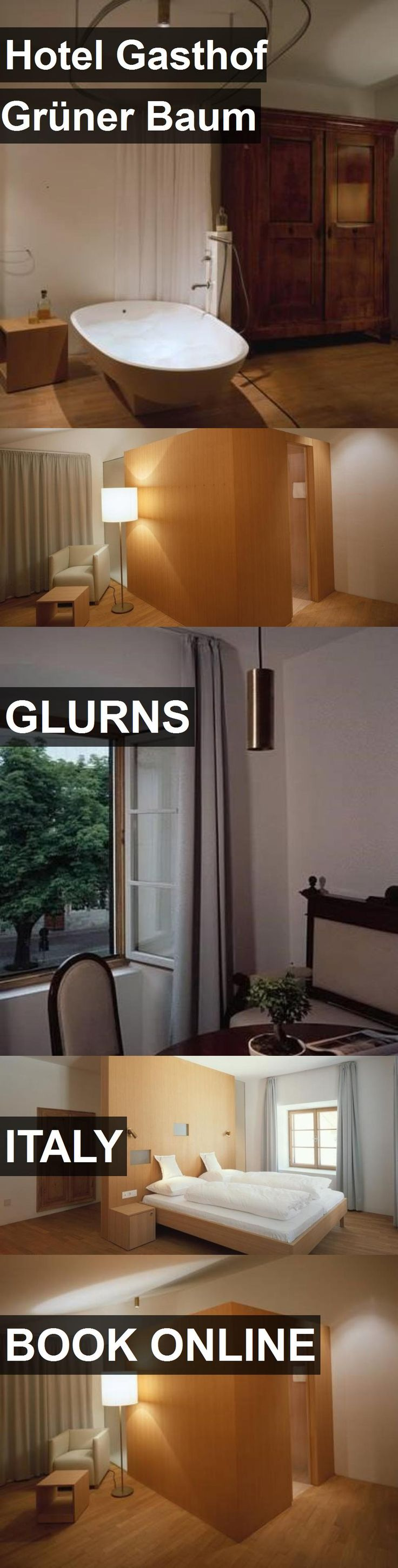 Hotel Hotel Gasthof Grüner Baum in Glurns, Italy. For more information, photos, reviews and best prices please follow the link. #Italy #Glurns #HotelGasthofGrünerBaum #hotel #travel #vacation