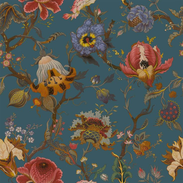 Part of the HOUSE OF HACKNEY x WILLIAM MORRIS AW15 collection: Artemis Petrol http://www.houseofhackney.com/collections/artemis.html
