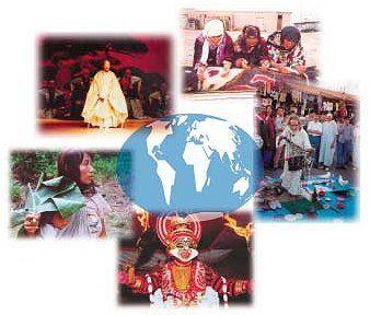 Globalisasi digambarkan sebagai sebuah proses menyatunya berbagai negara-bangsa ke dalam sebuah perkampungan dunia. Hubungan antarnegara-bang...