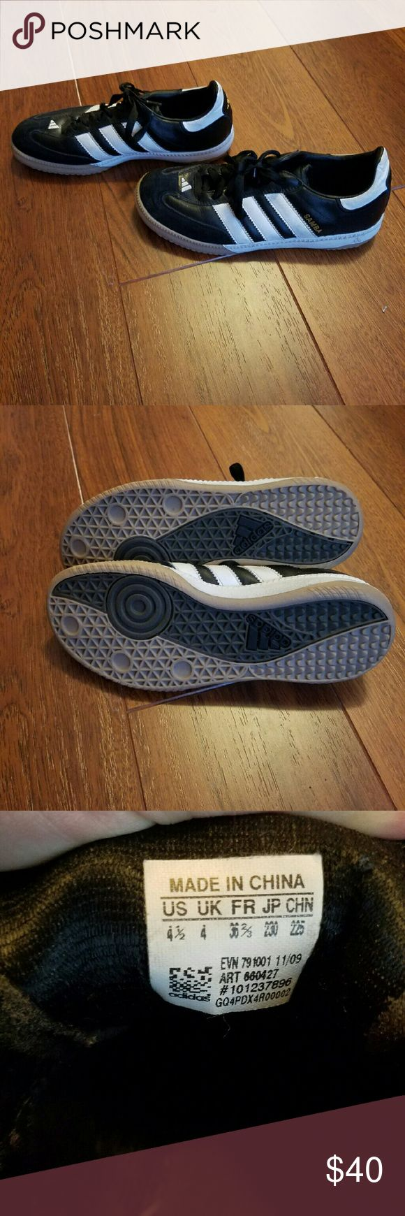 Adidas turf soccer shoes Never worn! Turf shoe size is 4.5 but fits a size US 6.5 foot Adidas Shoes Athletic Shoes