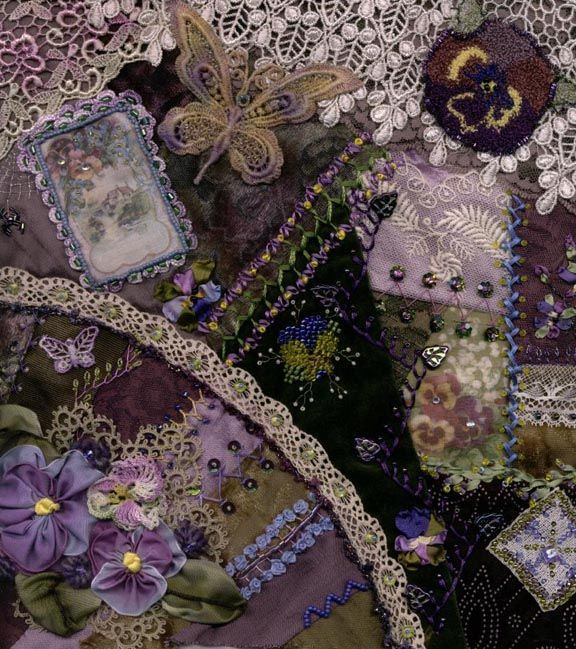 1000 Images About Fan Motifs For Crazy Quilting On Pinterest