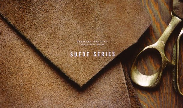 Herschel Supply (ハーシェル・サプライ) - Suede - Heritage (ヘリテイジ) バックパック (ブラック) - SIAMESE (サイアミーズ) オンラインセレクトショップ