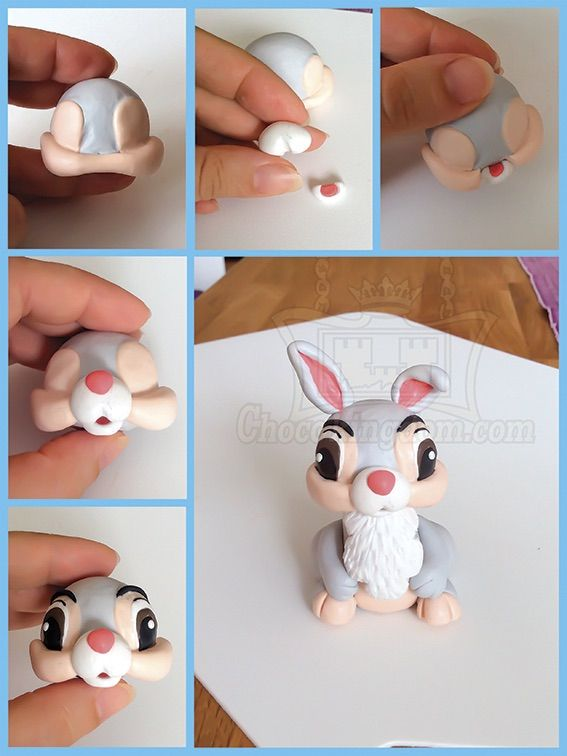 Disney Thumper Birthday Cake Topper Decoration Tutorial Part 2