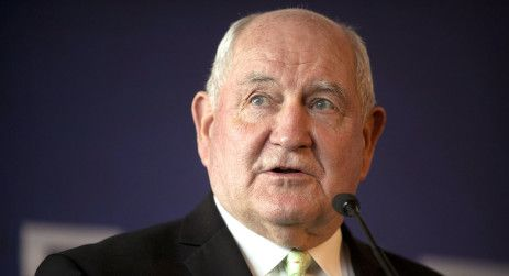 Critics pan USDA plan to move food safety work to trade office    Sonny Perdue is pictured. | AP Photo
