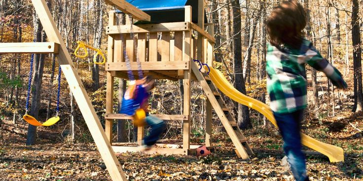 Wooden Swing Set Plans You Need to See