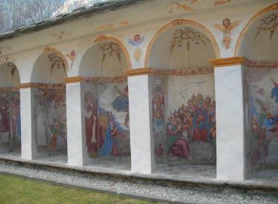 Cappellette con dipinti i Misteri di Gesù