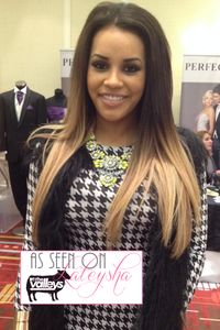 Lateysha from MTV's The Valleys in our Buttercup Showstopper Necklace / www.amidnightwonderland.com/product/buttercup-showstopper