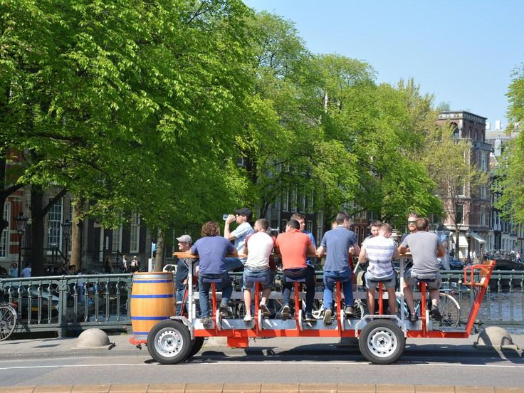 Amsterdam Has Banned Beer Bikes From the City Center  https://www.cntraveler.com/story/amsterdam-has-banned-beer-bikes-from-the-city-center