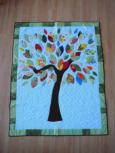 The Tree Quilt by lisaalexander83, via Flickr