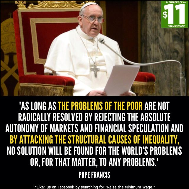 Humanist, but this Pope Francis...