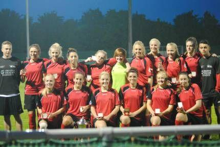 Team Solent Ladies Win 5th Cup Final!   sport solent