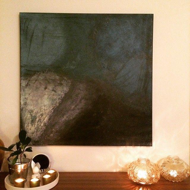 Lerret på tykk ramme 100x100cm - ikke solgt enda #maleri #malerier #akrylmaling #lerret #paint #paintings #acryl #acrylic #artwork #canvas #kreativt #kunst #abstract