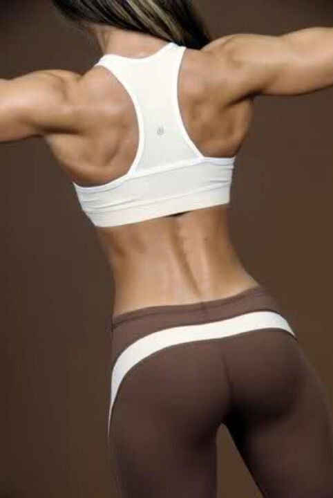 Female Form... strong shoulders and back