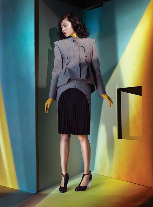 Wu Ting Ting by Lee Towndrow for Flare November 2012
