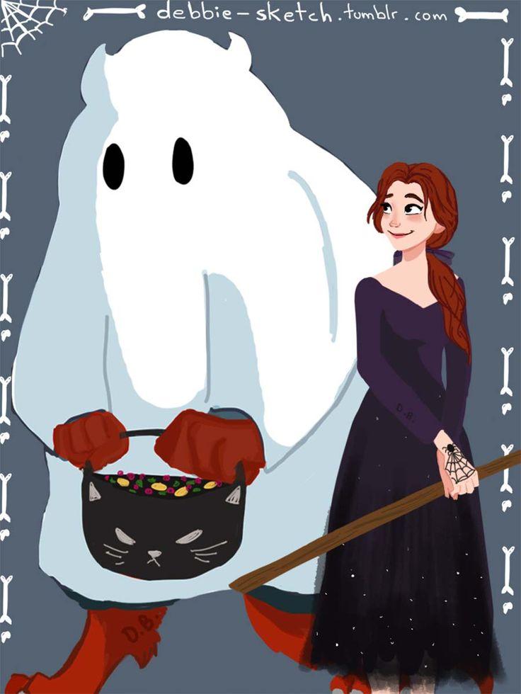 Casais Disney fantasiados para o Halloween