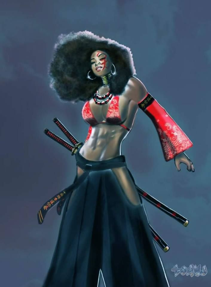 black warrior women - photo #19