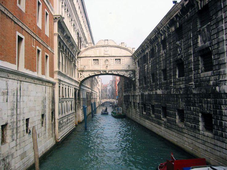 """Venecia, el """"Ponte dei sospiri"""". Foto de Pablo Cruz"""