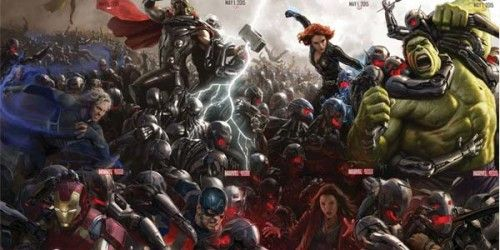 """Bloopers de """"Avengers: Age of Ultron"""" Con la salida a la venta de """"Avengers: Age of Ultron"""" el próximo dos de octubre, se poso en Internet una pequeña probadita de los materiales extras que traerá el DVD y Blue Ray de la película, pudiéndose... #avengersageofultron #bloopers #marvel"""
