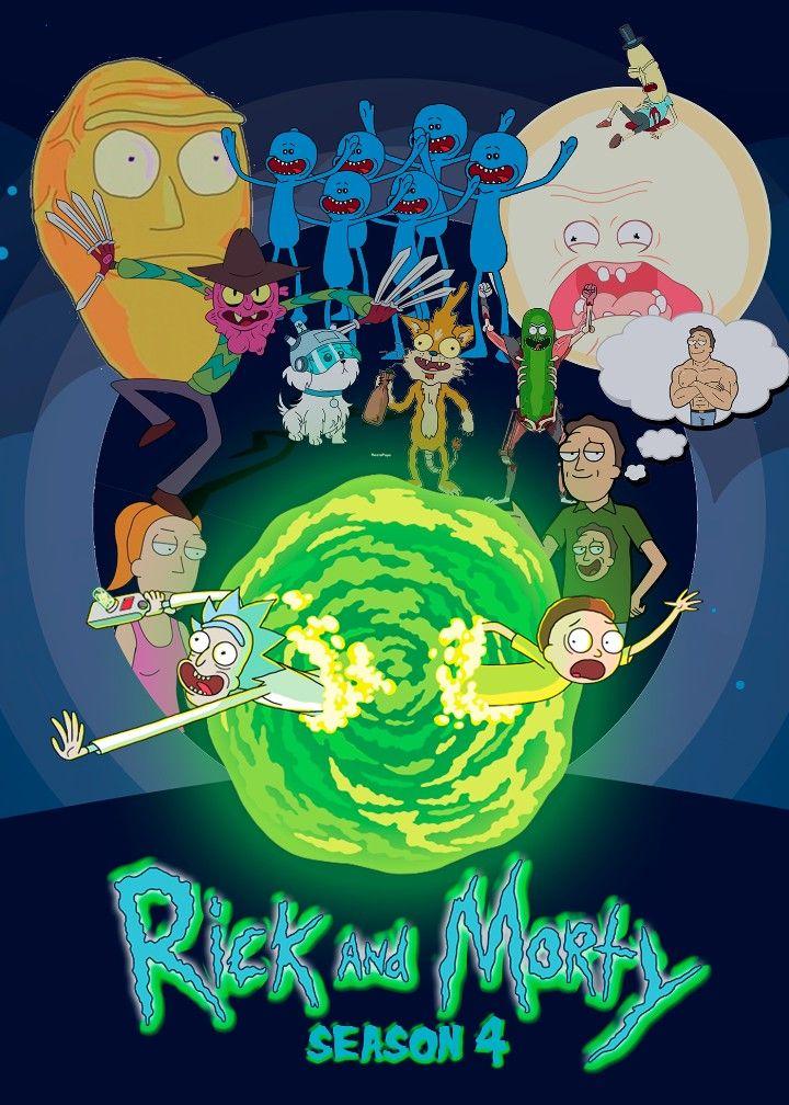 Rick and Morty x Season 4 | Wubba lubba dub dub | Watch rick, morty