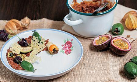 Mielmesabe de gulupa con queso paipa asado postre revista de, Recetas - Edición Impresa CocinaSemana.com