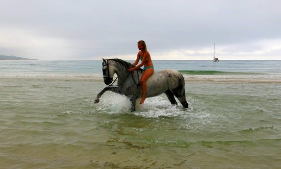 Horse Riding, Yoga, Meditation and Hikke Holiday in Andalusien, in a Natural Park near the beach