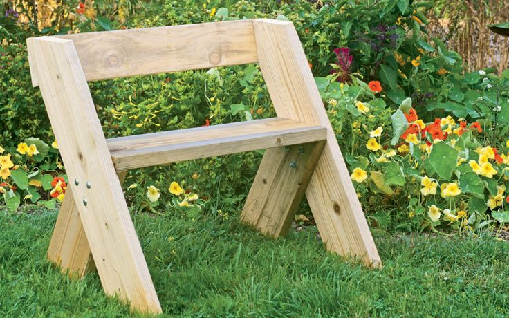 How To Build A Leopold Bench Organic Gardening Http Www