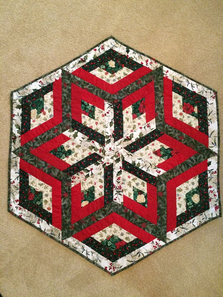 Quilted Christmas Tree Skirt Patterns