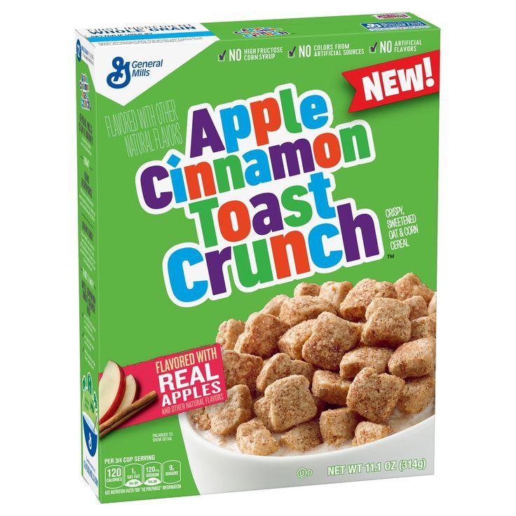 General Mills Apple Cinnamon Toast Crunch -11.6oz