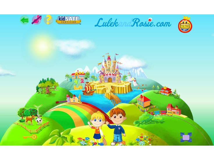 LulekandRosie.com - educational, free and safe games for your child.