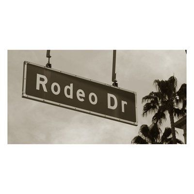 Laila's DALE199-3E Rodeo Drive 3 Canvas Art