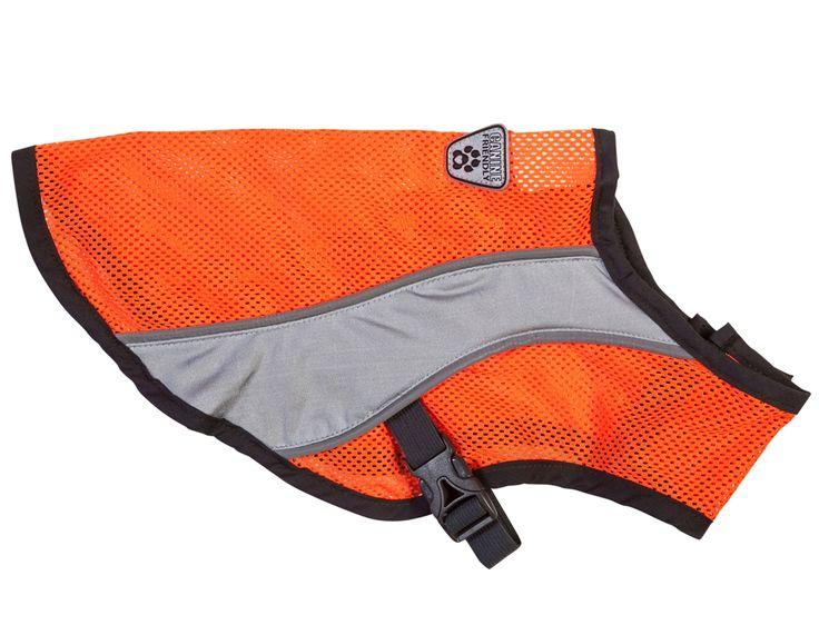 - Canine Equipment high visibility vest  - Adjustable elastic waist  - XS-XXL