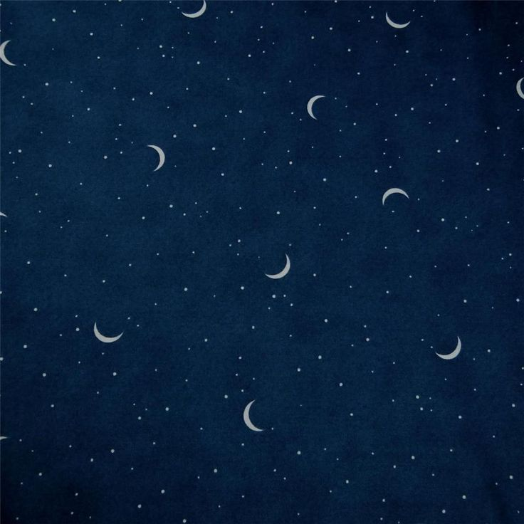 28 best images about moon and stars material on pinterest for Night sky print fabric